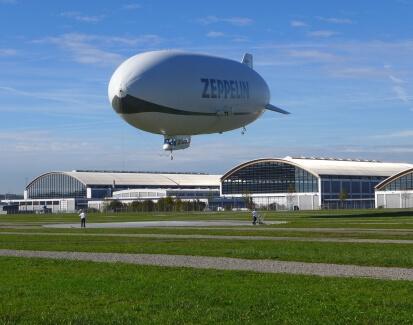 Riding on Zeppelin