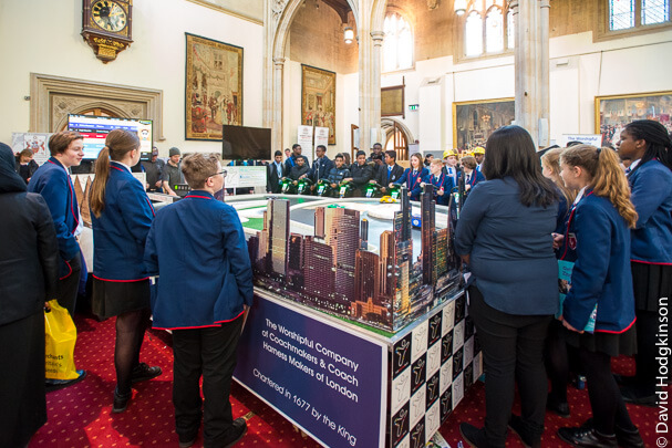 Engaging young people at Guildhall