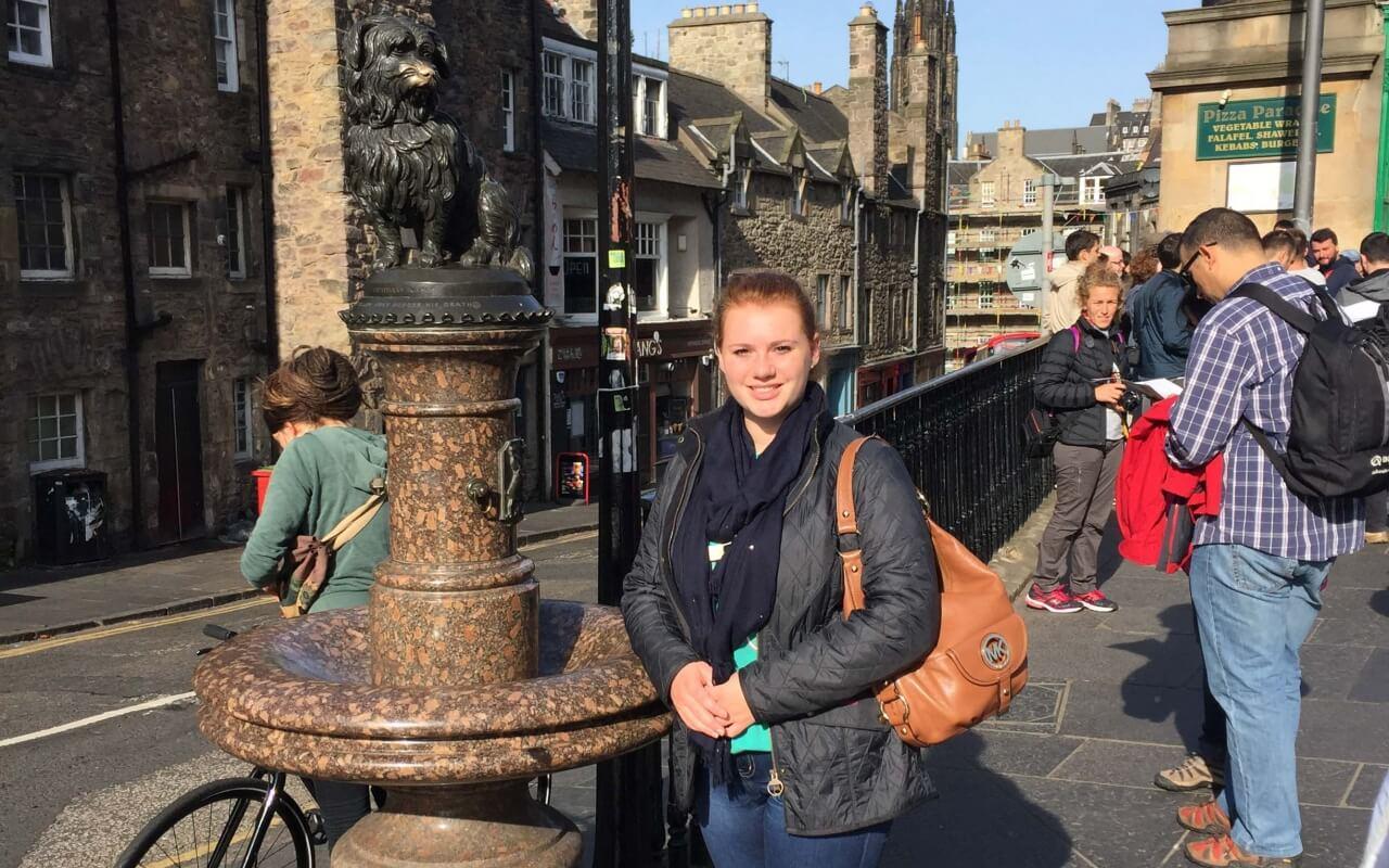 Sophie Blauth visits Edinburgh