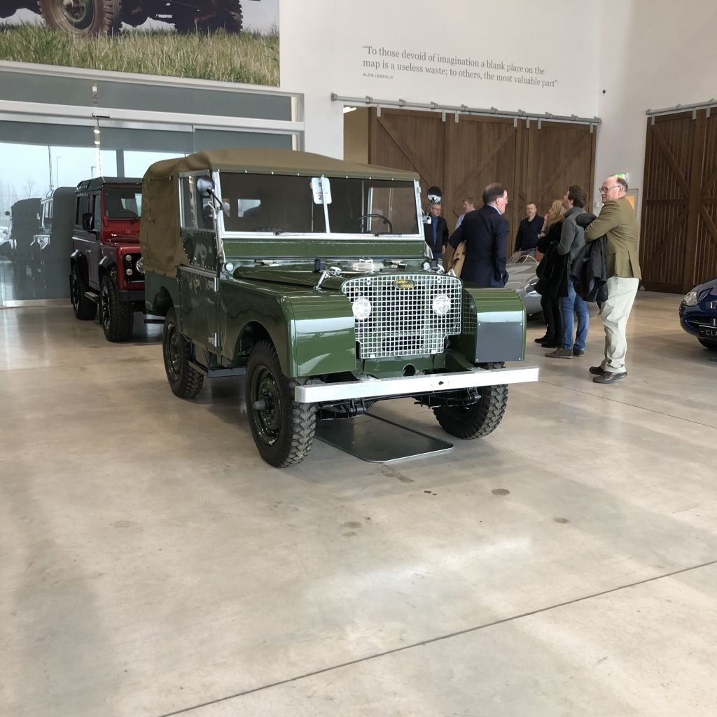 Land Rover Series One restorations start at about £65K