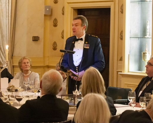 Guest speaker Police Commissioner Ian Dyson QPM, City of London Police