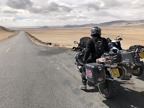 High up on the Tibetan Plateau