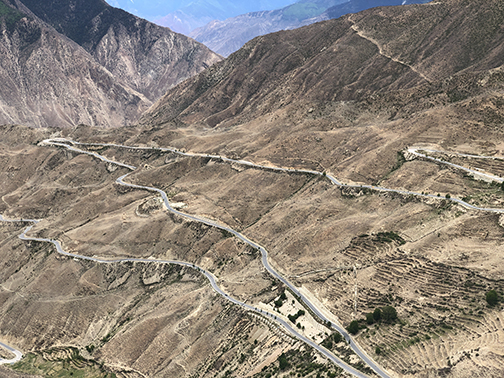The infamous Sichuan Highway