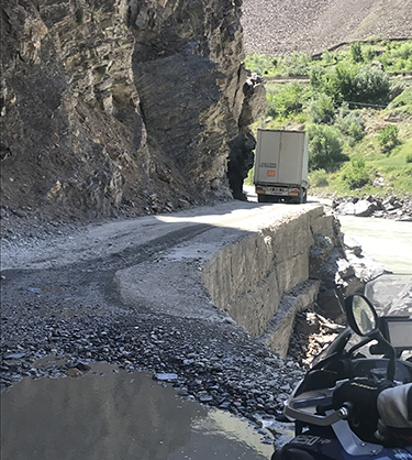 Little room for error on the Pamir Highway