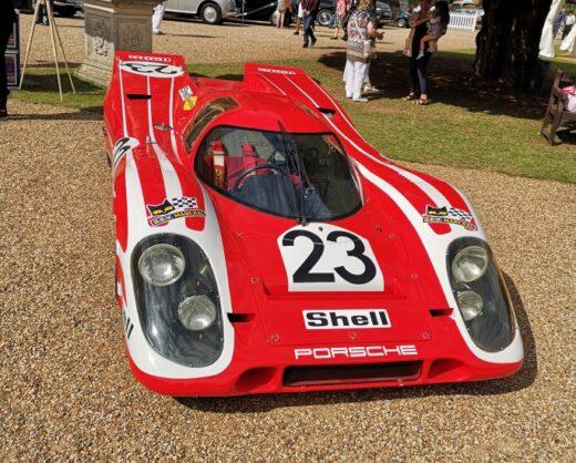 The overall Concours winner, Porsche 917K