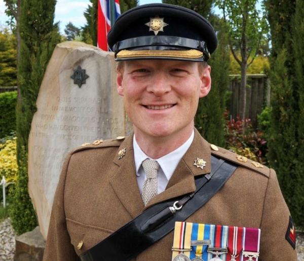 Lt Col Dominic Davey