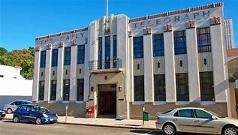 Art Deco exterior in Napier, New Zealand
