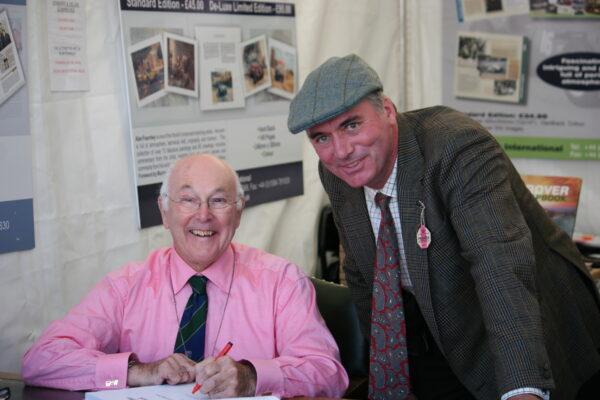 The Clerk meeting Murray Walker OBE