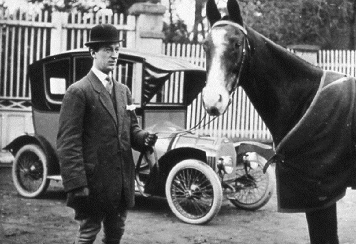 Ettore Bugatti, copyright The Bugatti Trust