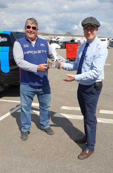 Roger Woodbridge, Bandini Trophy Formula Junior Front Engine Champion and Simon Diffey